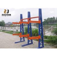 Wholesale Slotted Rivet With Safelock Customized Size Cantilever Pallet Racking , Customized Color Material Rack from china suppliers