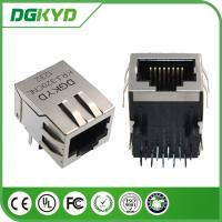 Wholesale 1 Port intergrated magnetics RJ45 with transformer ,1000 Megabit netowrk connector from china suppliers
