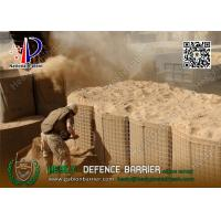 Buy cheap HESLY Military Defensive Barriers lined with Heavy Duty Geotextile | China Military Bastion Barrier Supplier from wholesalers