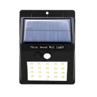 Wholesale 20LED Triangle PIR Solar Sensor Motion Wall Light Fixture Outdoor Wall Mounted Lantern Porch Lamp China Manufacturer from china suppliers