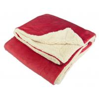 Quality Oversize Sherpa Blankets Black/Red/Chocolate/Blue/Burgundy/Charcoal for sale