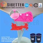 Food Grade RTV 2 Liquid Moulding Silicone Rubber for Fondant Mold