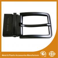 Wholesale Gunmetal Reversible Oversized Belt Buckles Polishing Surface Treatment from china suppliers