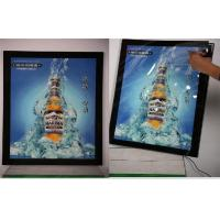 Wholesale 3000 LUX Waterproof Outdoor Led Double Sided Light Box A0 With Aluminum Frame from china suppliers
