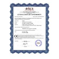 Tongdy Sensing Technology Corporation Certifications