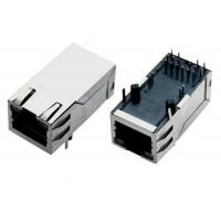 Wholesale 8 Pin / 10 Pin RJ45 Magnetic Jack Network Connector With EMI Fingers from china suppliers