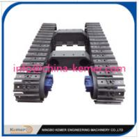 Wholesale customized undercarriage/2 Ton Steel Track Undercarriage/Steel Crawler Undercariage/Crawler Chassis from china suppliers