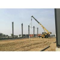 Buy cheap Large Span Prefabricated Steel Structure Building / Light Steel Structure Warehouse For Oversea Project from wholesalers