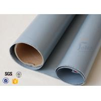 Wholesale 7628 0.3mm Grey Silicone Coated Fiberglass Fabric For Anti Corrosion Materials from china suppliers