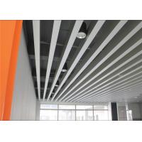 Wholesale Fireproof Indoor Decoration Aluminium Strip Ceiling Anodic Oxidation Surface from china suppliers
