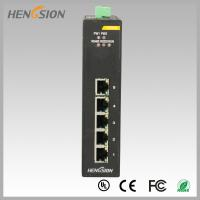 Wholesale 10Gbps 5 Electric port Industrial Gigabit Ethernet Switch din rail mount from china suppliers