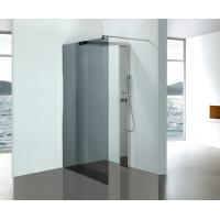 Wholesale Grey Glass Bathroom Shower Enclosures With Stainless Steel Shower Column Panels from china suppliers