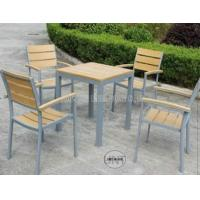 Wholesale Piece Small Patio Table And Chairs / Garden Outdoor Furniture With Polywood Top from china suppliers