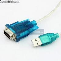Wholesale USB to RS 232 Adapter Cable DB9 Serial Converter Device Cable from china suppliers