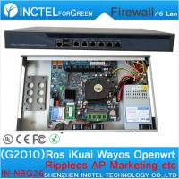 Wholesale RouterOS Panabit PFSense monowall PFS OPENWRT ROS firewall with G2010 processor from china suppliers