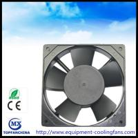 Buy cheap 110V - 420V AC Cooling Fans 120 x 120 x 25mm,  4.7 Inch metal frame industry exhaust fan from wholesalers