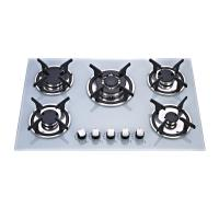 Wholesale Stainless Steel 5 Burner Kitchen Gas Hobs , Five Burner Gas Cooker OEM / ODM from china suppliers