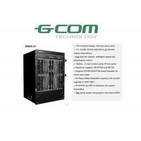 Quality High Density 10G EPON OLT Chassis 128×EPON 96×GE For Telecommunication S8600-16 for sale