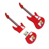 Wholesale 4GB / 8GB / 16GB Mini Red Cartoon Violin PVC Custom Usb Flash Drive from china suppliers