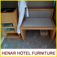 Wholesale Modern Commercial Hotel Furniture Packages / Beech Wooden Luggage Rack from china suppliers