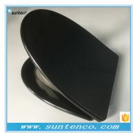 Quality 2016 New Style Quick Release V Shape Black Toilet Seat Covers for sale