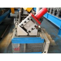 Buy cheap Manual / Hydraulic Stud And Track Roll Forming Machine , Steel Frame Roll Forming Machine 4KW from wholesalers