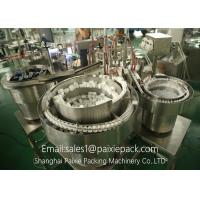 Wholesale Liquid Drink / Milk / Oil / E Liquid Filling Machine 0.84KW High Production Efficiency from china suppliers