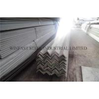 Wholesale Pickled Stainless Steel Angle Brackets / Unequal Angle Bar ASTM A479 from china suppliers