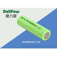 Wholesale High Capacity 1.2 V Nimh Battery , Aa Nimh Rechargeable With 2000mah from china suppliers