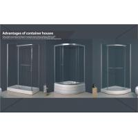 Wholesale Simple Shower Room Container Home Kits with ABS panel 80×80×215 cm from china suppliers