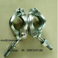 Quality Double forged 90 degree heavy duty scaffolding coupler SGS certificated for sale