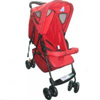 Wholesale Single handle Safety Red Baby Stroller Adjust With Three Position from china suppliers