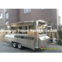 Wholesale Camping Kitchen Mobile Cooking Trailers Strong Stainlee Steel from china suppliers