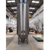 Wholesale SS 304 Dimple Jacketed Stainless Steel Beer Fermenter 4 Legs With Leveling Footpads from china suppliers