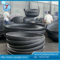 Wholesale ASME B16.9 black painting OD 2700*6 carbon steel Q235B cap dish from china suppliers