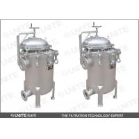 Wholesale High Throughput Standard Multi Bag Filter Housing UNITE BF Series from china suppliers
