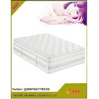 Wholesale Pocket coil spring mattress with convoluted foam in topper from china suppliers