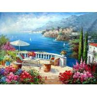Buy cheap 100%hand-painted traditional oil painting on canvas,oil painting reproduction from wholesalers