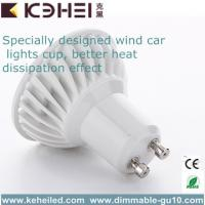 Quality AC110V / 220V 4Watt GU10 Spot light with integrated 25° / 45° CE RoHs for sale