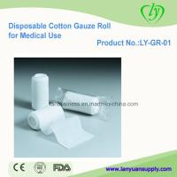 China Disposable Cotton Gauze Rolls for Medical Use on sale