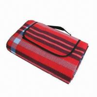 Wholesale Fleece Beach Mat, Foldable Picnic Mat/Foldable Beach Mat, Made of Acrylic Material from china suppliers