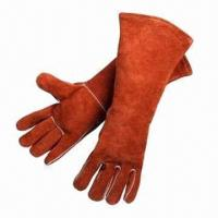 Wholesale Leather Safety Working Gloves, Used for Automotive Industry  from china suppliers