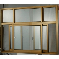 China House Anti Theft 1.6mm Aluminum Horizontal Sliding Windows on sale