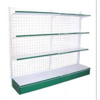Wholesale Custom Electric Galvanized Chrome Plated Supermarket  Wire Steel Storage Shelves from china suppliers