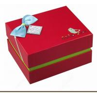 Wholesale Cardboard Jewelry Gift Boxes / Jewelry Paper Boxes Gap Between Cover And Base from china suppliers