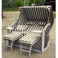 Wholesale Outdoor Roofed Wicker Beach Chair from china suppliers