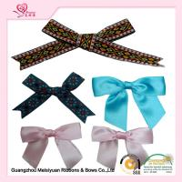 Wholesale Personalized Pre tied Ribbon Bows For Greeting Card , premade christmas bows 7cm from china suppliers