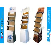 Wholesale Customized Retail Store Cardboard Display Stands with Four Tier for Promotion from china suppliers