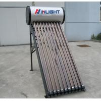 Wholesale 10 Tubes Integrated Pressure Compact Solar Water Heater With PVDF Steel Tank from china suppliers