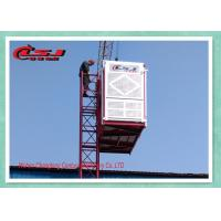 Quality 2 Ton Twin Cage Man And Material Hoist , Industrial Buck Hoist Elevator for sale